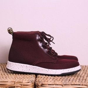 NEW Dr. Martens Softwair Telkes Red Knit Shoes 9